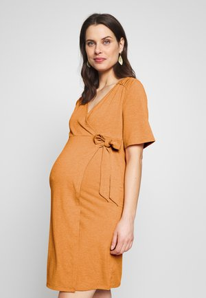 MLELENA TESS DRESS - Jerseykjoler - nugget