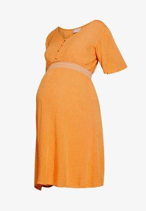 MLJACINTA WOVEN DRESS - Kjole - nugget