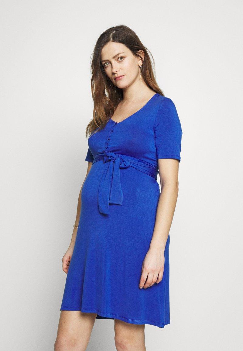 MAMALICIOUS - MLADRIANNA DRESS - Vestido ligero - dazzling blue