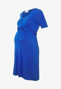 MAMALICIOUS - MLADRIANNA DRESS - Vestido ligero - dazzling blue - 4