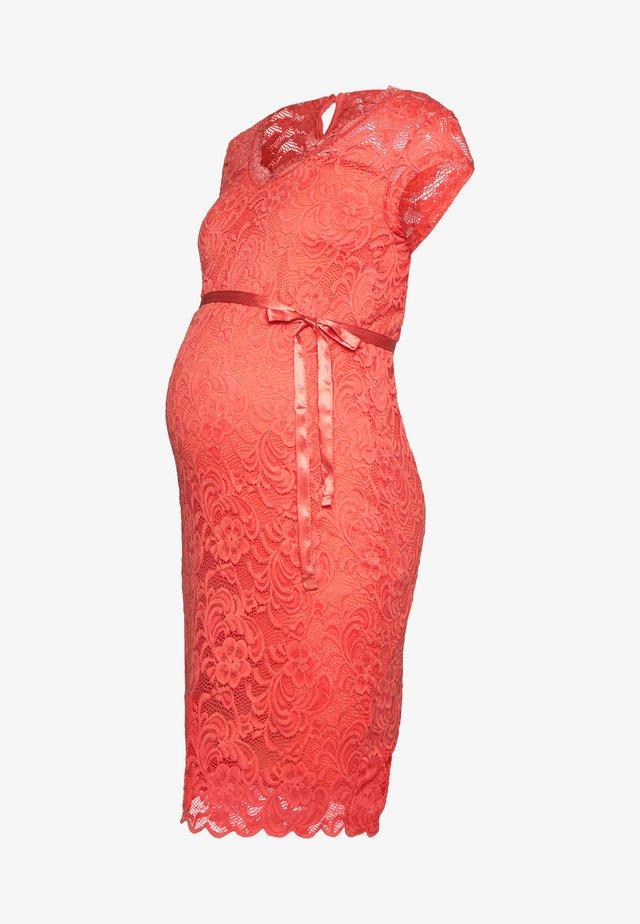 MLNEWMIVANA CAP DRESS - Cocktail dress / Party dress - georgia peach