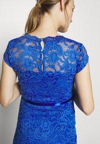 MAMALICIOUS - MLNEWMIVANA CAP DRESS - Vestido de cóctel - dazzling blue - 6