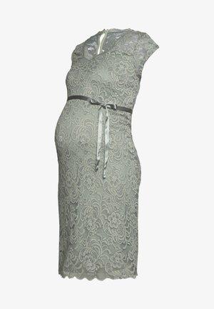 MLNEWMIVANA CAP DRESS - Vestido de cóctel - green milieu