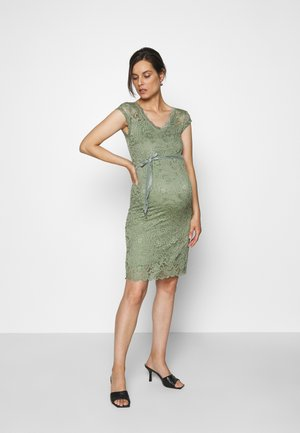 MLNEWMIVANA CAP DRESS - Vestido de cóctel - sea spray