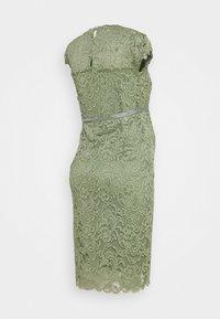 MAMALICIOUS - MLNEWMIVANA CAP DRESS - Cocktail dress / Party dress - sea spray - 1
