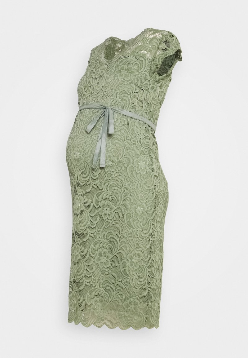 MAMALICIOUS - MLNEWMIVANA CAP DRESS - Cocktail dress / Party dress - sea spray