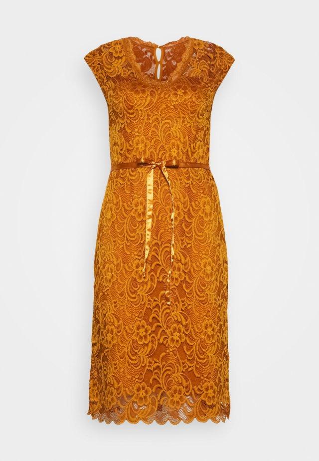 MLNEWMIVANA CAP DRESS - Cocktailkleid/festliches Kleid - sudan brown