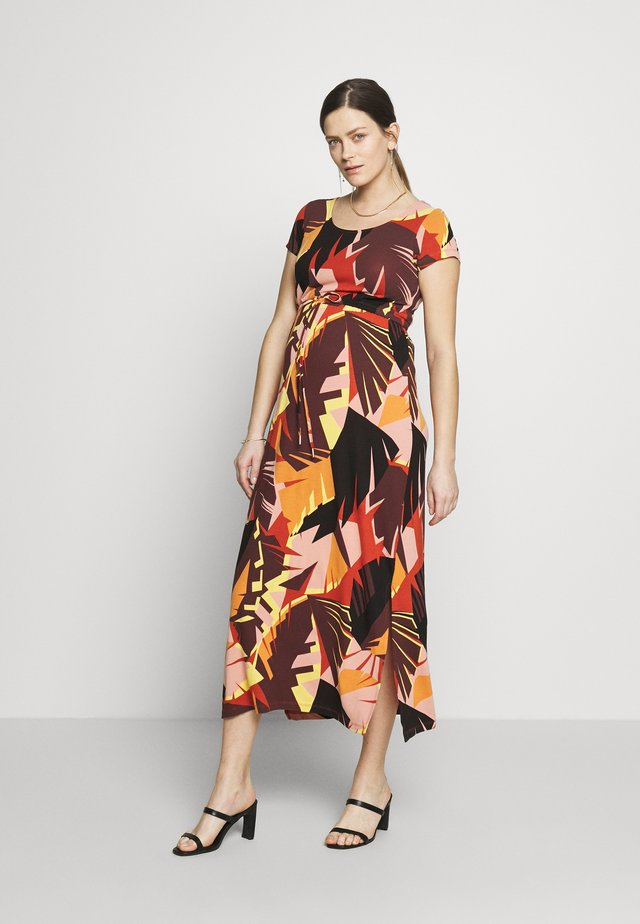 MLMINA ANCLE DRESS - Maxi-jurk - rooibos tea