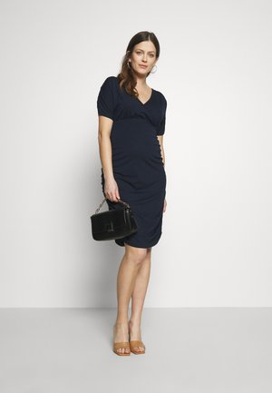 MLPILAR DRESS - Vestido de tubo - navy blazer