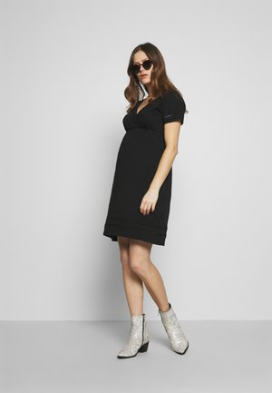 MLSIANA TESS DRESS - Žerzejové šaty - black