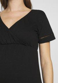 MAMALICIOUS - MLSIANA TESS DRESS - Vestido ligero - black - 4