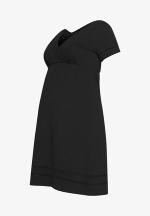 MLSIANA TESS DRESS - Sukienka z dżerseju - black