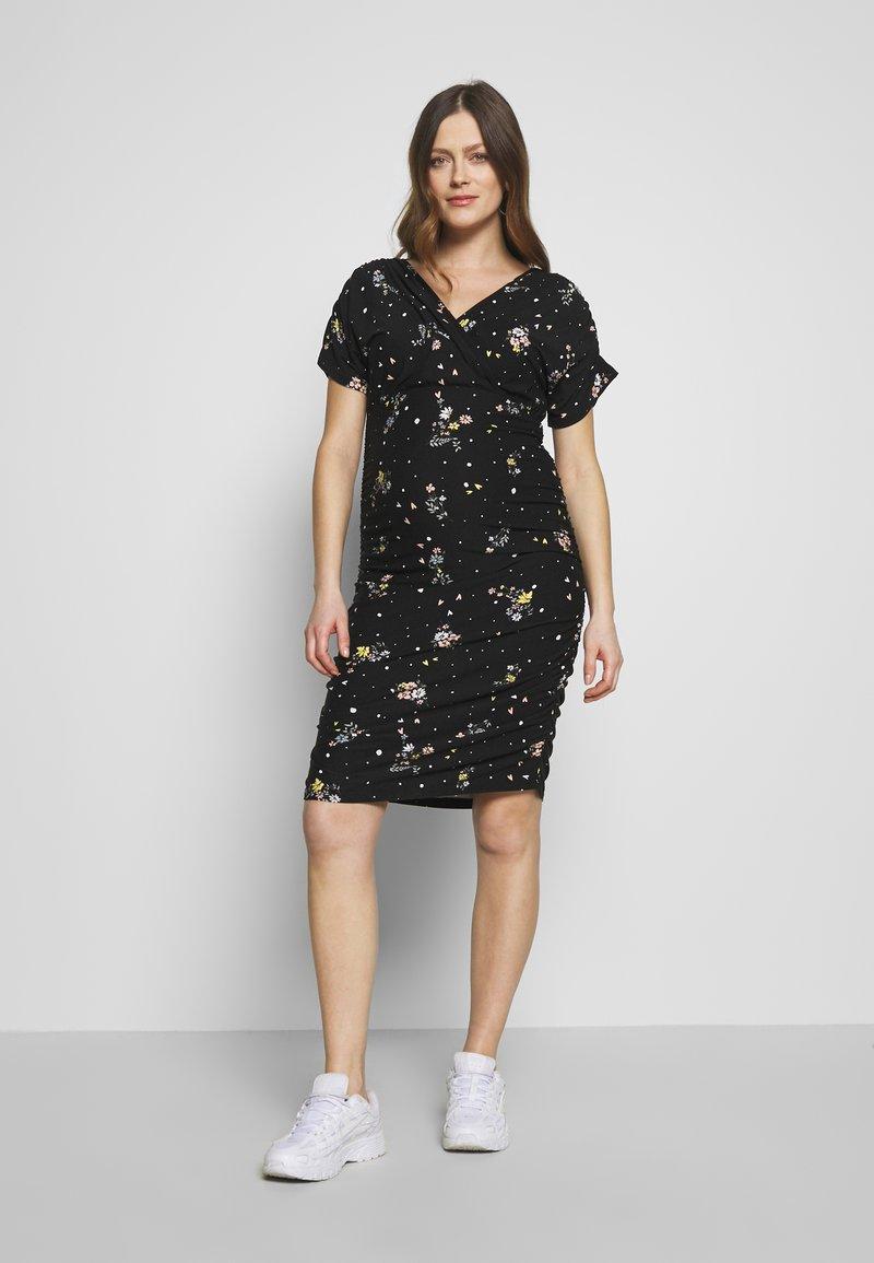 MAMALICIOUS - MLPILAR - Sukienka z dżerseju - black
