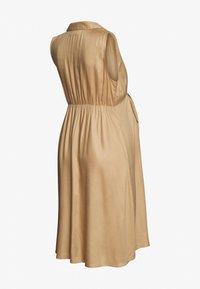 MAMALICIOUS - MLSAFIRA DRESS - Vestido informal - sesame - 1