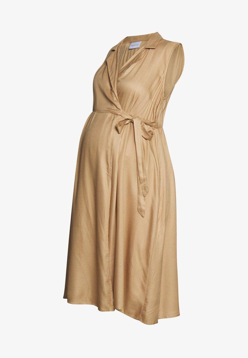 MAMALICIOUS - MLSAFIRA DRESS - Vestido informal - sesame