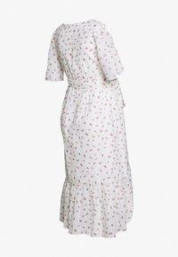 MAMALICIOUS - MLDITSY MIDI DRESS - Sukienka letnia - snow white - 1