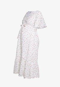 MAMALICIOUS - MLDITSY MIDI DRESS - Sukienka letnia - snow white - 0