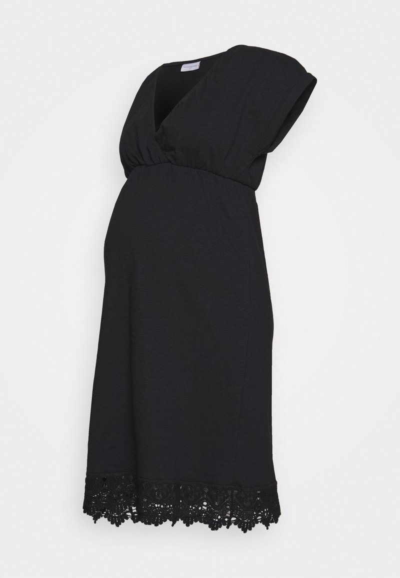 MAMALICIOUS - MLALETTA TESS SHORT DRES - Vestido ligero - black