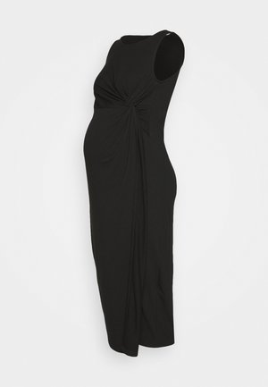 MLMEHA DRESS - Žerzejové šaty - black