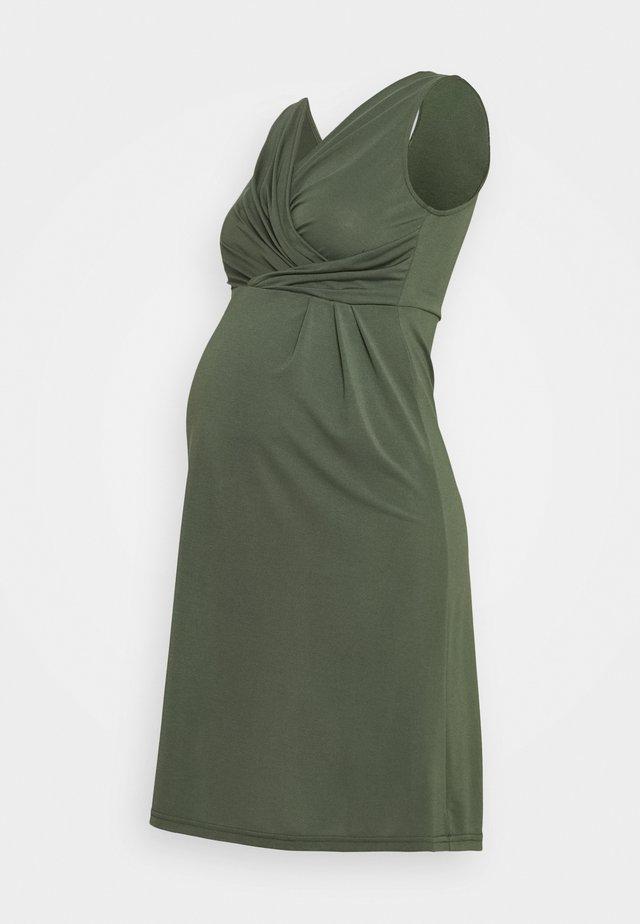 MLALONNA TESS DRESS - Jerseyjurk - thyme