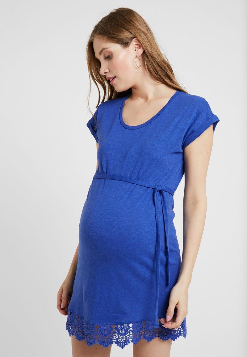 MAMALICIOUS - MLALETTA - Jersey dress - deep ultramarine