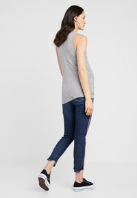 MAMALICIOUS - MLANNIA TANK 2 PACK - Top - black/light grey melange - 3