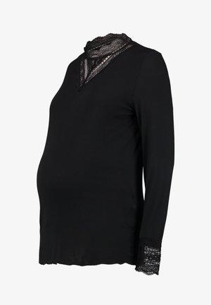MLREESE - T-shirt à manches longues - black