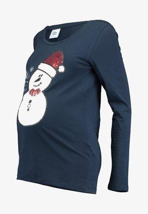 Langærmede T-shirts - navy blazer