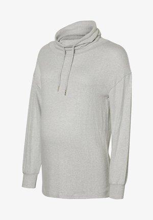 Long sleeved top - light gray melange