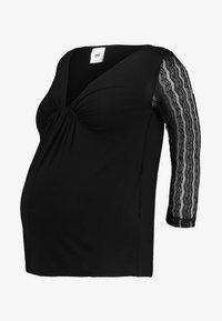 MAMALICIOUS - MLADDIE NELL - Långärmad tröja - black - 4