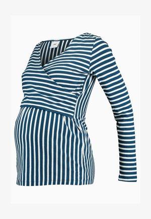 MLOTILIA TESS - Långärmad tröja - poseidon/snow white