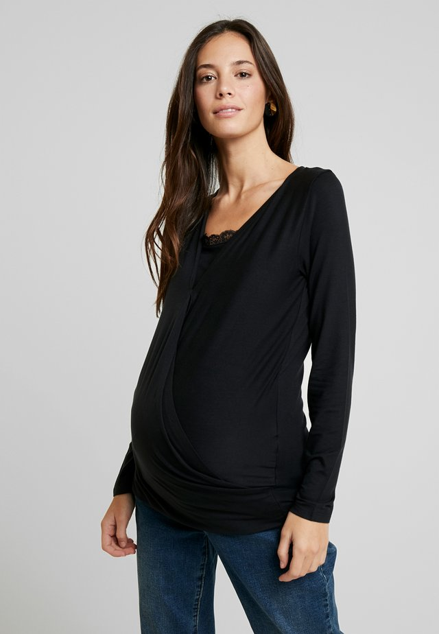 MLSHANA TESS - Pitkähihainen paita - black