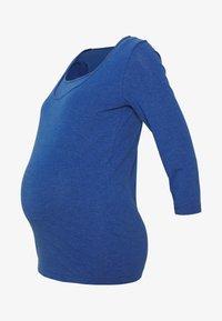 MAMALICIOUS - MLEMMELY NELL - Bluzka z długim rękawem - limoges melange - 4