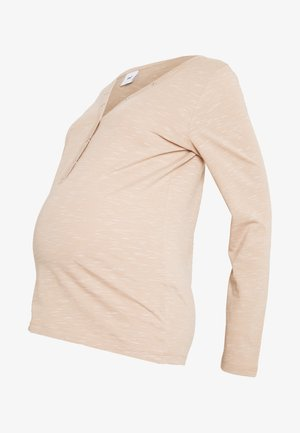 MLANTHEA LIA - Bluzka z długim rękawem - sand