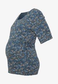 MAMALICIOUS - CARLOTTA TESS - T-shirt print - orion blue - 4