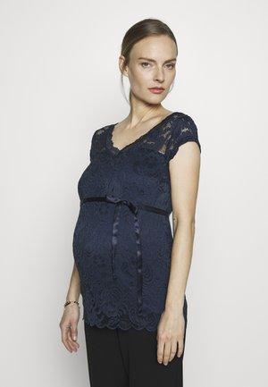 MLMIVANA CAP - Blusa - dress blues