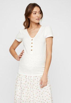 T-shirts basic - snow white