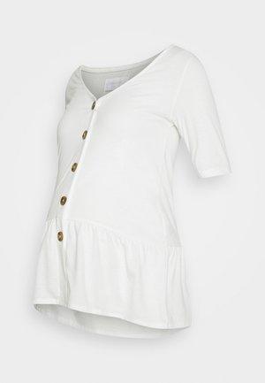 MLFLOR LIA - Camiseta estampada - snow white