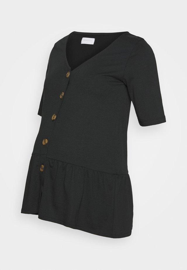 MLFLOR LIA - T-shirt print - black