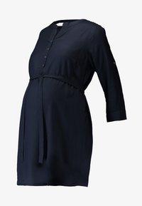 MAMALICIOUS - MLMERCY - Blus - navy blazer - 4