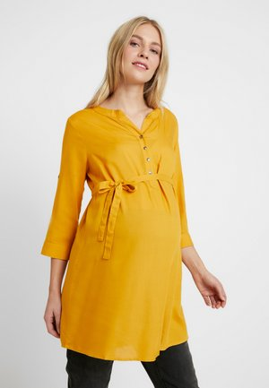 MLMERCY TUNIC - Tuniek - golden yellow