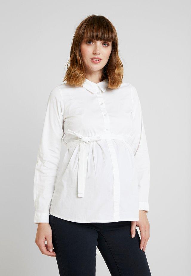 MLKAJA WOVEN - Button-down blouse - bright white