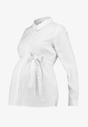 MLKAJA WOVEN - Paitapusero - bright white
