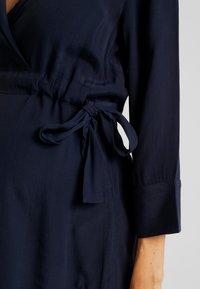 MAMALICIOUS - MLEWA - Blouse - navy blazer - 4