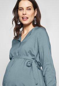 MAMALICIOUS - MLVERONIKA WOVEN  - Button-down blouse - ashley blue - 3