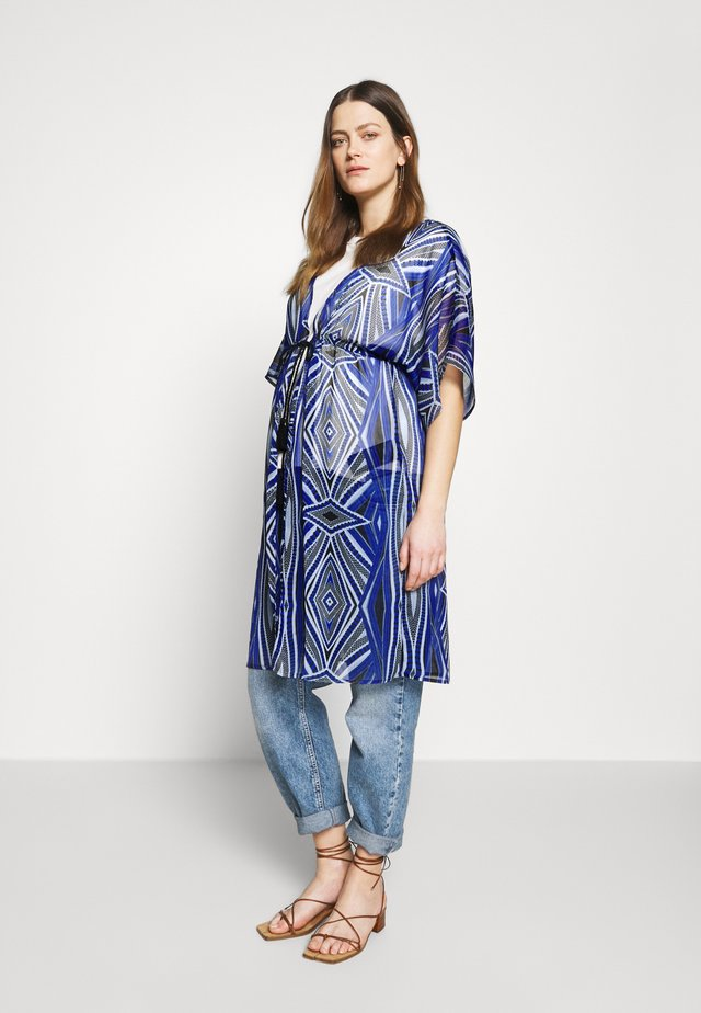 MLCUBRA KAFTAN - Bluzka - black/graphic