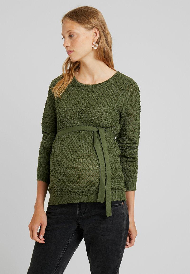 MAMALICIOUS - Sweter - four leaf clover