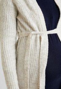MAMALICIOUS - MLJULIANNE CARDIGAN - Cardigan - light grey - 4