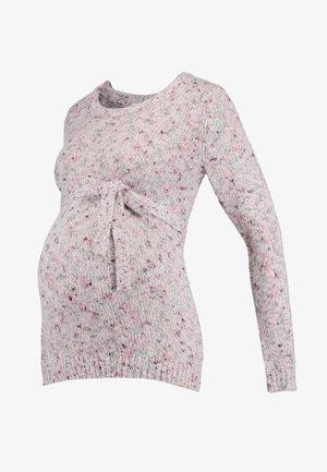 MLCHELLA - Strikkegenser - hawthorn rose/multi colored yarn