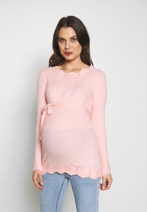 MLNEWEVA - Stickad tröja - pink